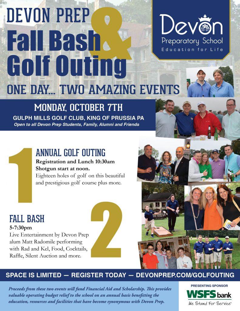 Devon Prep Fall Bash & Golf Outing | Devon Preparatory School